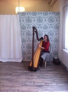 Anja und Harfe