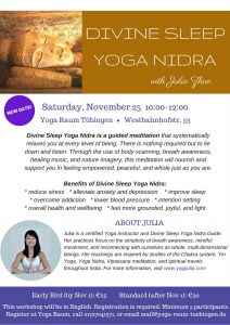 Divine Sleep Yoga Nidra 2017