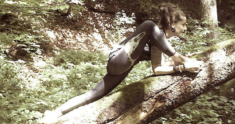 jenny Yoga Eidechse